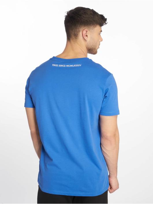 Deus Maximus t-shirt Vecchio blauw