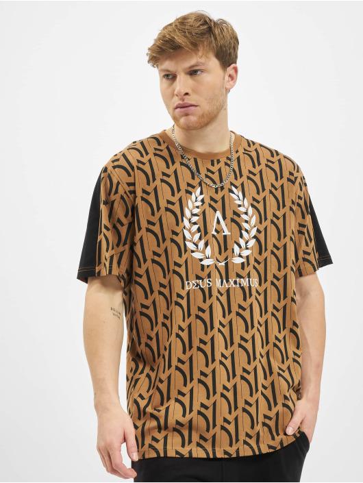 Deus Maximus T-Shirt Calliope braun
