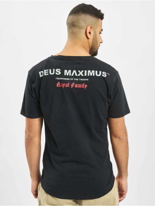 Deus Maximus T-shirt Eternity nero