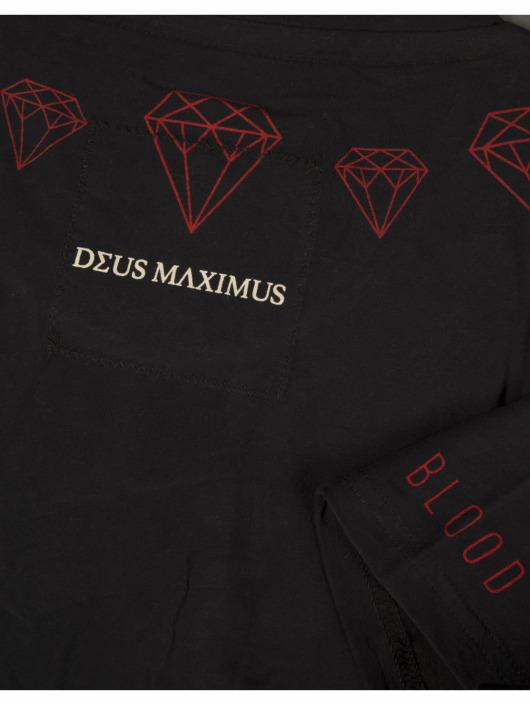 Deus Maximus T-shirt 24KRT nero