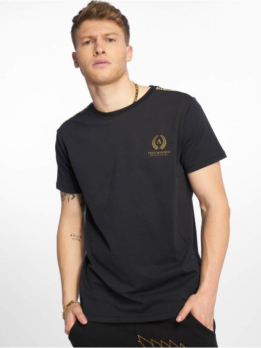 Deus Maximus T-Shirt Kleanthes noir