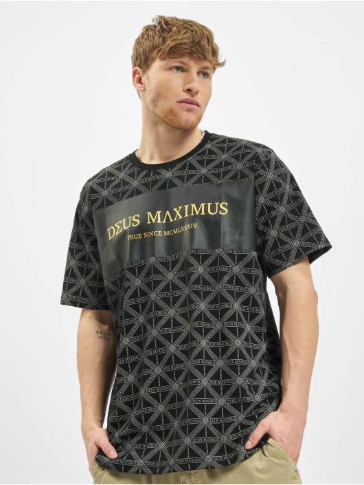 Deus Maximus T-Shirt Acrisius noir