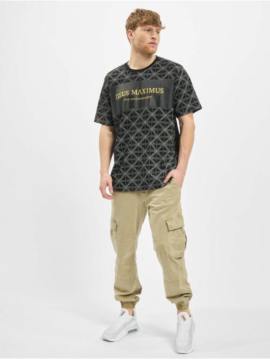 Deus Maximus T-Shirt Acrisius schwarz
