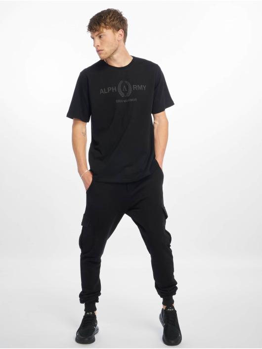 Deus Maximus T-shirt Menon svart