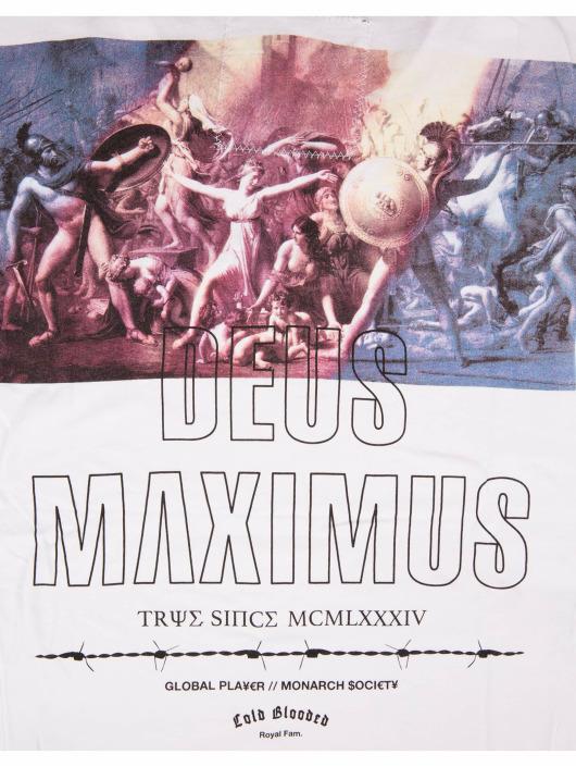 Deus Maximus T-Shirt Private World weiß