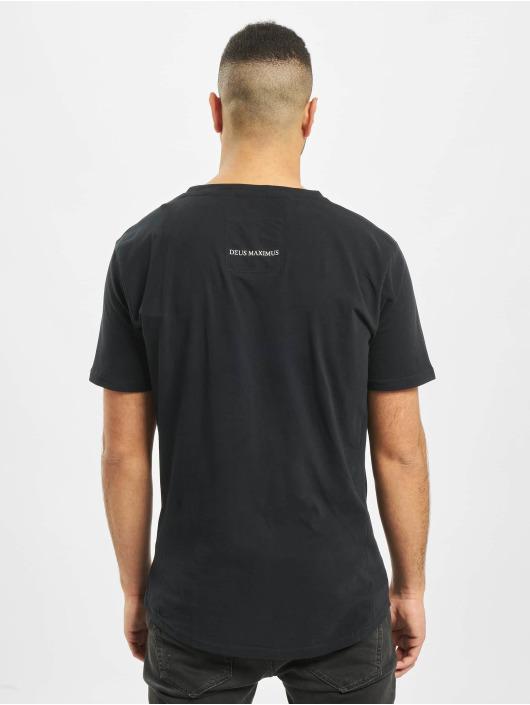 Deus Maximus t-shirt Cold Blooded zwart