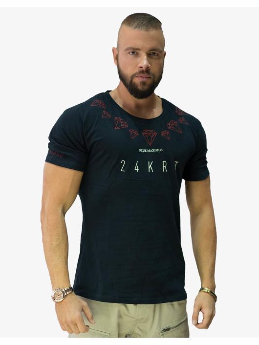 Deus Maximus t-shirt 24KRT zwart