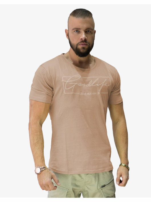 Deus Maximus T-shirts Goodlife beige