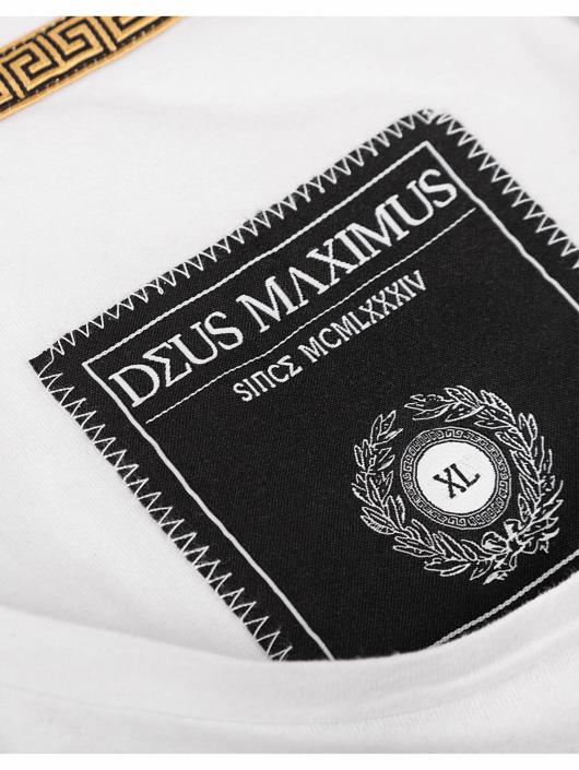 Deus Maximus T-Shirty Hero bialy