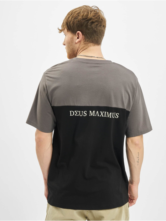 Deus Maximus T-Shirty Tanatos czarny