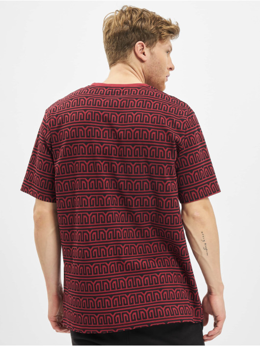 Deus Maximus T-Shirty Erato czerwony