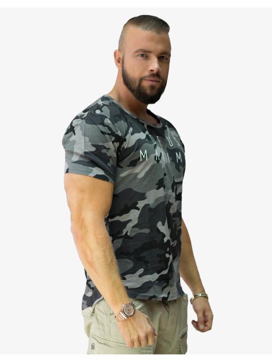 Deus Maximus T-skjorter Phantom Strike grå