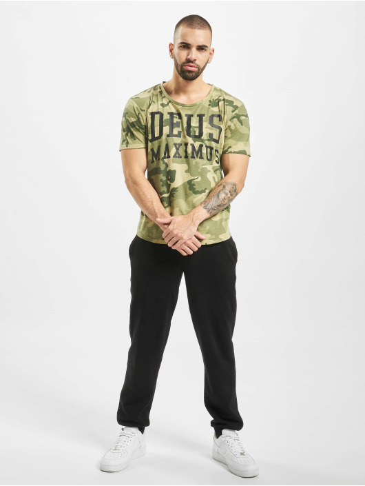 Deus Maximus T-skjorter Stealth Takedown kamuflasje