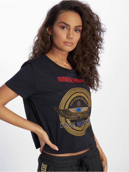 Deus Maximus T-skjorter Sia svart