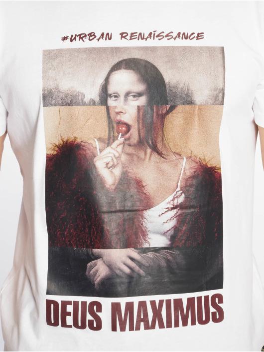 Deus Maximus Tričká Giocondo biela
