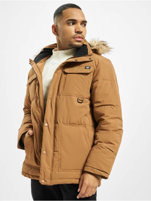 Dickies Зимняя куртка Manitou коричневый