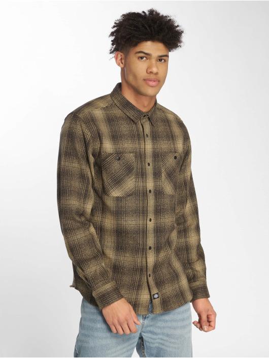 Dickies Рубашка Linville оливковый