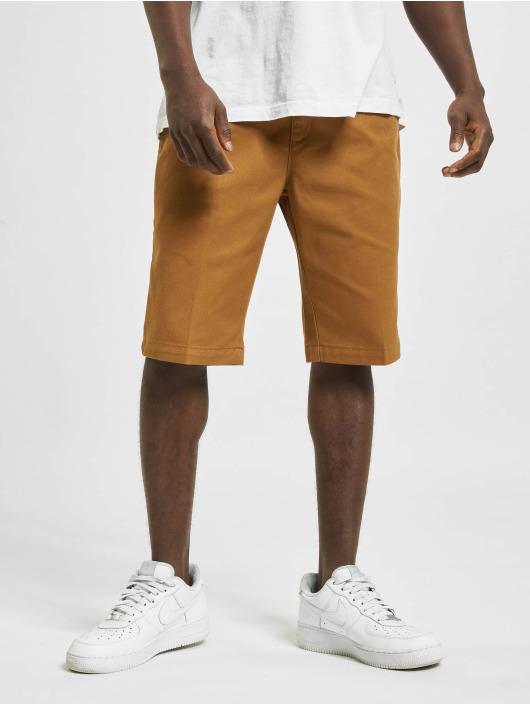 Dickies Шорты Slim Fit коричневый