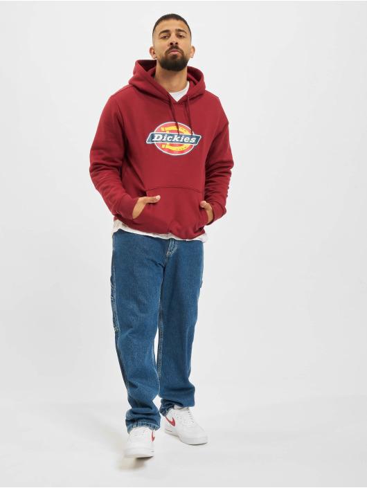 Dickies Bluzy z kapturem Icon Logo czerwony