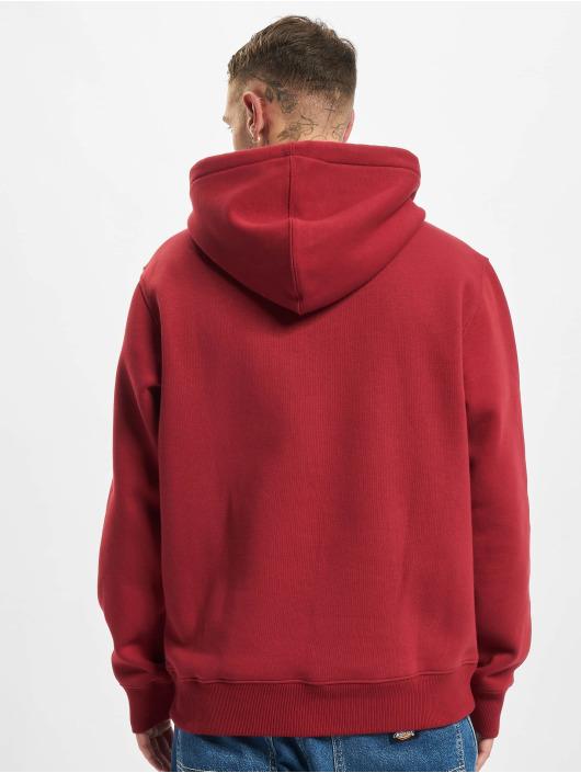 Dickies Bluzy z kapturem Saxman czerwony