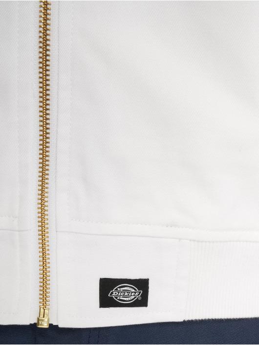 Dickies Bomberjacka Hughson Streetwear vit