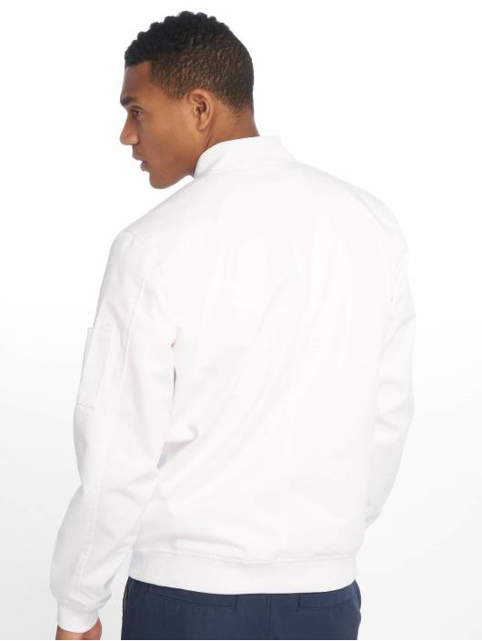 Dickies Bomberjacke Hughson Streetwear weiß