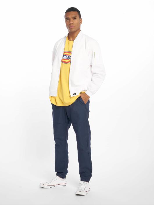Dickies Bomberjakke Hughson Streetwear hvid