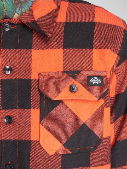 Dickies Camicia Sacramento arancio