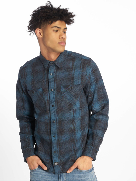 Dickies Camicia Linville blu