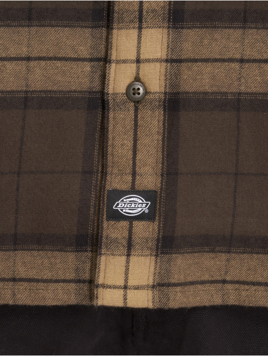 Dickies Camicia Brownsburg marrone