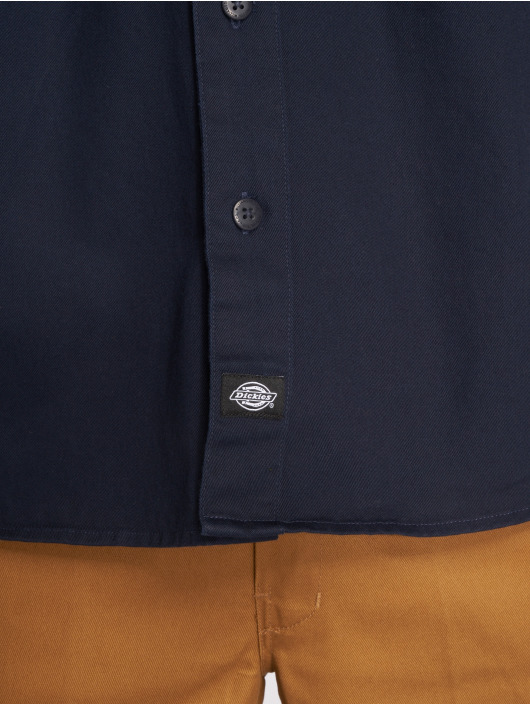 Dickies Camisa Nelsonia azul