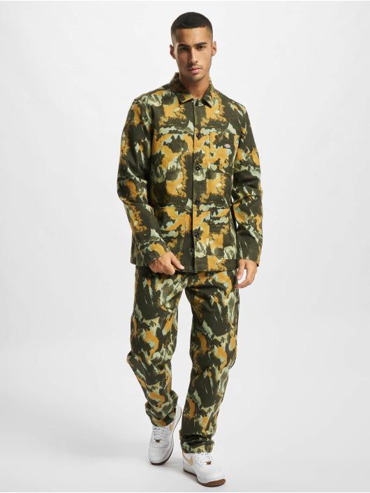 Dickies Camisa Crafted Camo camuflaje