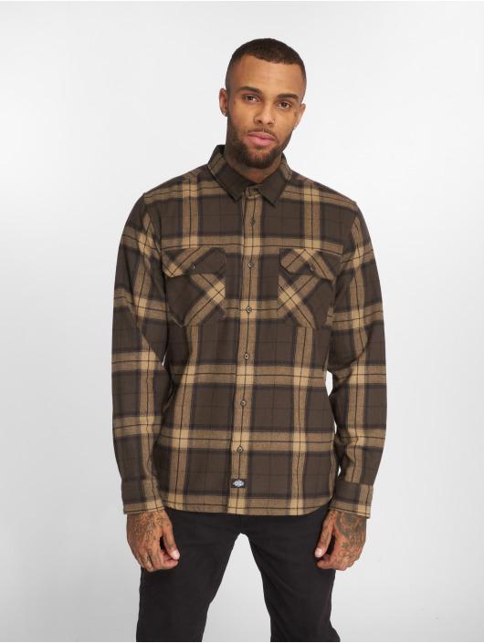 Dickies Camisa Brownsburg marrón