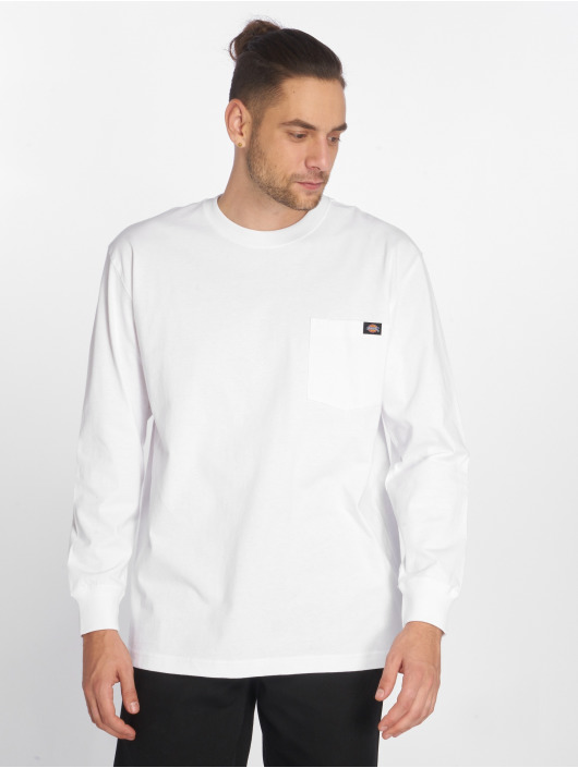 Dickies Camiseta de manga larga Pocket blanco