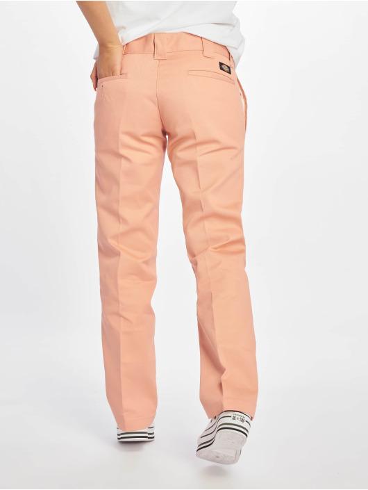 Dickies Cargo Nohavice Slim Strght Work pink