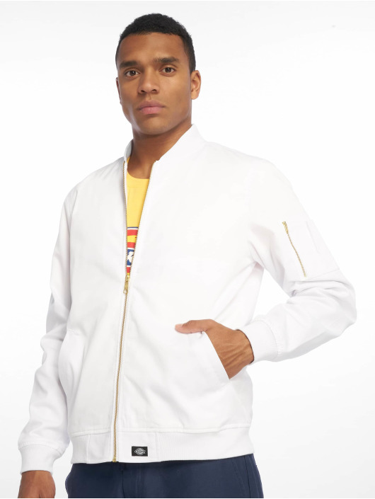 Dickies Cazadora bomber Hughson Streetwear blanco