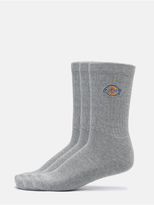 Dickies Chaussettes Valley Grove 3-Pack gris