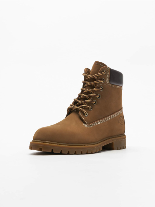 Dickies Chaussures montantes Fort Worth brun