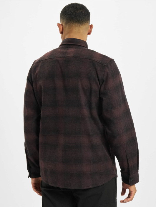 Dickies Chemise Plesent Hill rouge