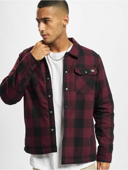 Dickies Chemise Sherpa Lined rouge