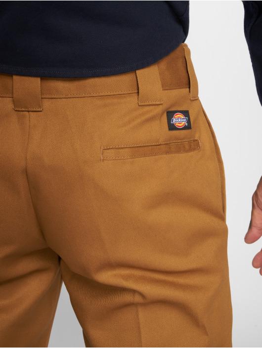 Dickies Chino pants WP873 Slim Straight Work brown