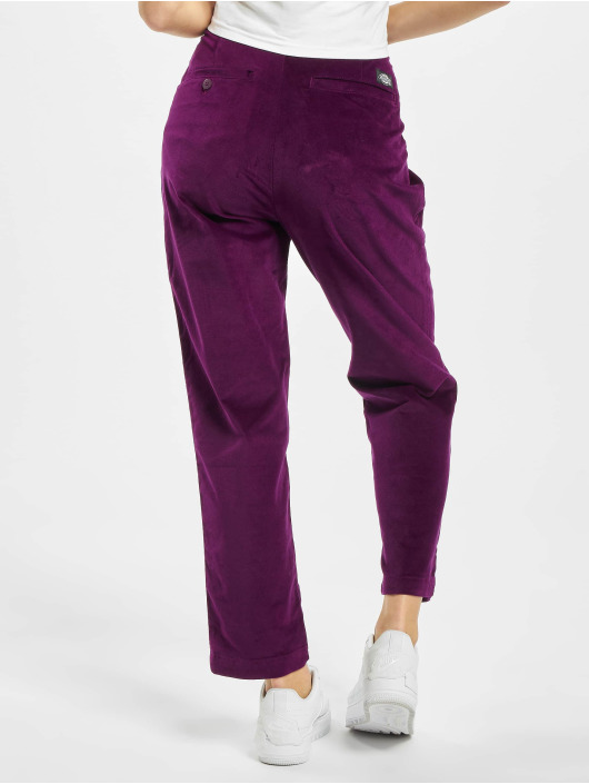 Dickies Chinot/Kangashousut Alexandria purpuranpunainen