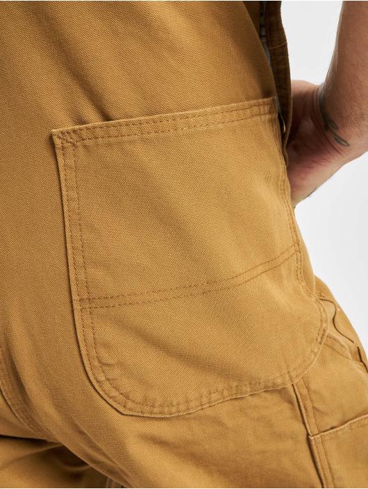 Dickies Dungaree Bib Overall Rinsed brown