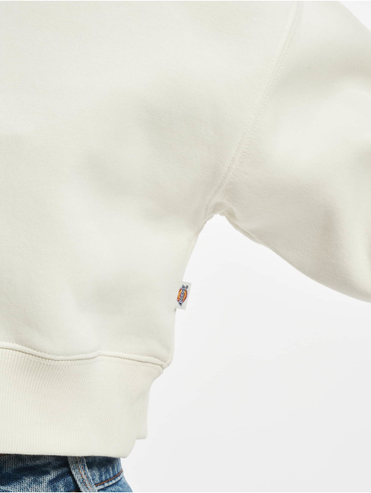 Dickies Felpa con cappuccio Oakport Cropped beige