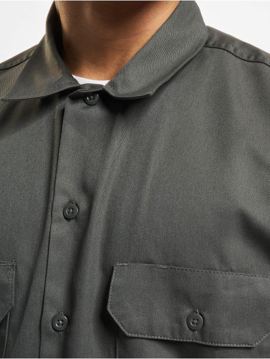 Dickies Hemd Shorts Sleeve Work grau