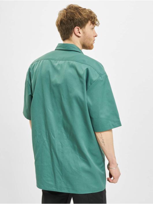 Dickies Hemd Short Sleeveork grün