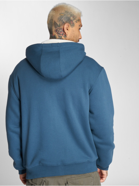 Dickies Hoodies con zip Sherpa Fleece turchese