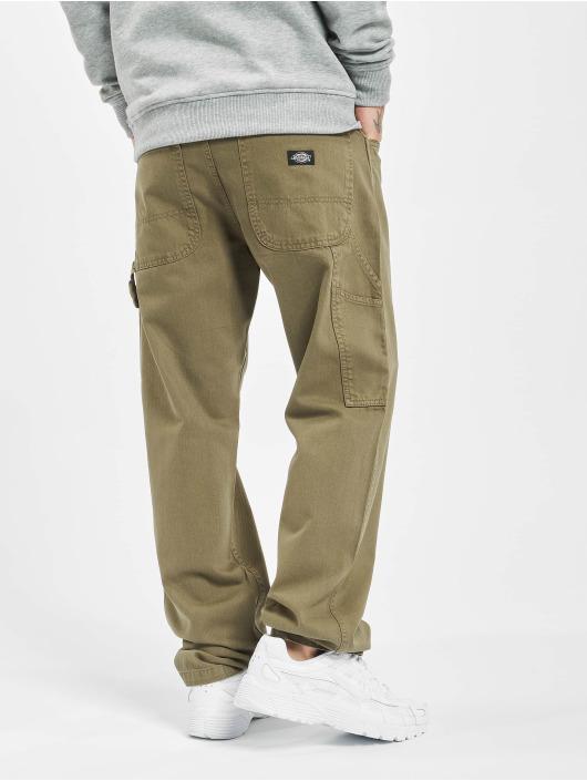 Dickies Jeans straight fit Fairdale verde