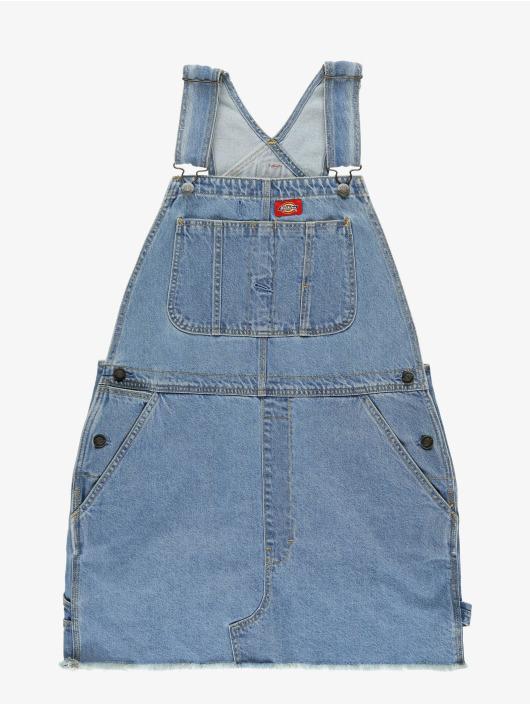 Dickies jurk Hopewell Denim blauw