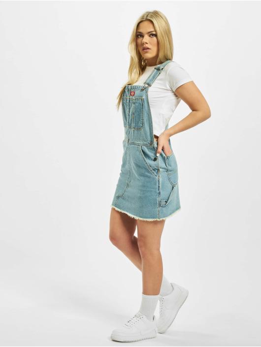 Dickies jurk Hopewell blauw